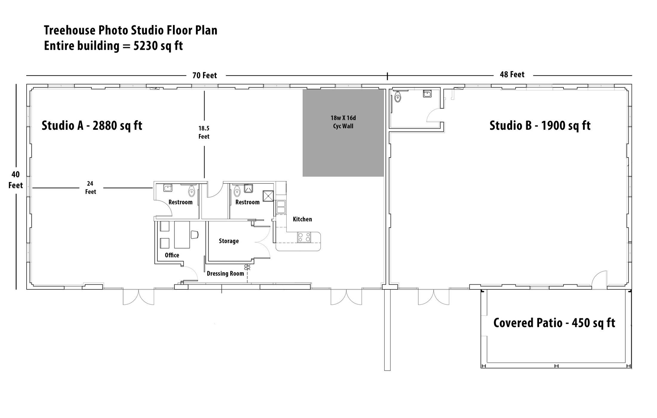 Treehouse studios floor plan